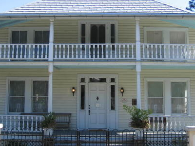 Front Of James Wadsworth Rossetter House