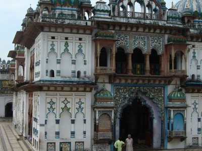 Janki Temple Inside The Temple