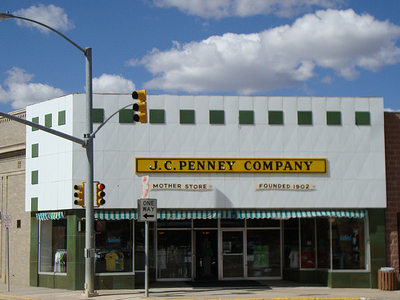 JC Penney First Store At Kemmerer