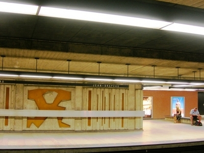 Jean Drapeau Metro Station