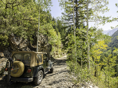 Jeep Ride To Crystal Mill Site - Aspen CO