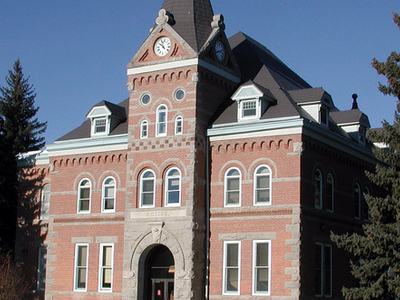 Jefferson County Courthouse In Boulder