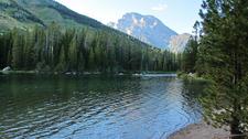 Jenny Lake Trail At Grand Tetons - Wyoming - USA