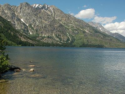 Jenny Lake Trail - Grand Tetons - Wyoming - USA