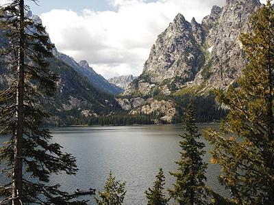 Jenny Lake Trail Views - Grand Tetons - Wyoming - USA