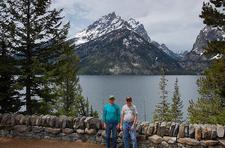 Jenny Lake Visitor Center - Grand Tetons - Wyoming - USA