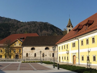 Jesenice Main Square - Julian Alps