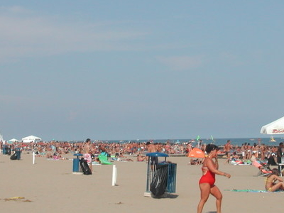 Beach At Jesolo