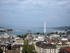 Jet D'Eau From The North Tower Of The Cathedral
