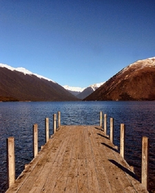Jetty @ Lake Rotoiti - Nelson Lakes National Park NZ