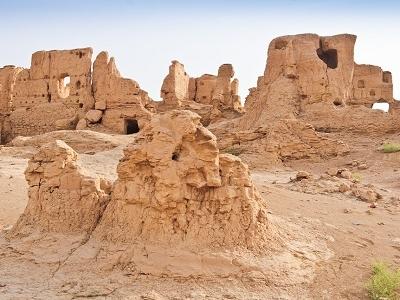 Jiaohe Ruins - Xinjiang