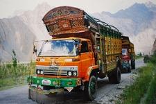 Jingle Trucks On Karakoram Highway