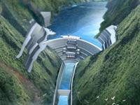 Jinping una central hidroeléctrica