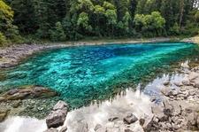 Jiuzhaigou Valley National Park Stream