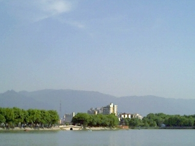 The Mountain Range To The South Of Jiujiang
