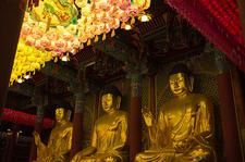 Jogyesa Temple In Seoul