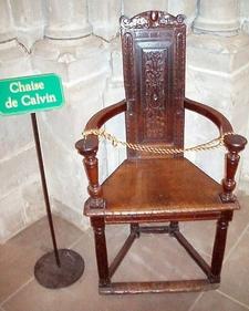 John Calvin's Chair
