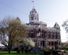 Johnson County Courthouse In Franklin