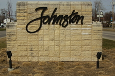Johnston Welcome Sign