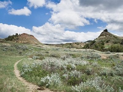Jones Creek Trail - TRNP North Dakota