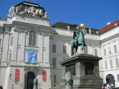Josefsplatz At The Hofburg Palace