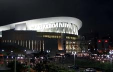 José Miguel Agrelot Coliseum At Night