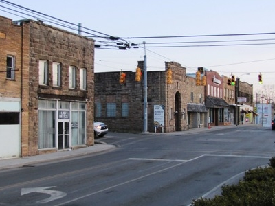 Main Street In Jamestown
