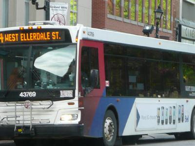 A Saint John Transit Bus
