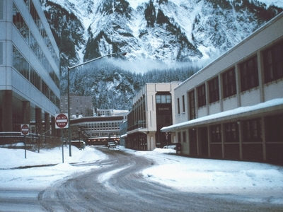 Juneau In The Winter
