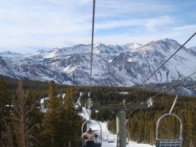 June  Mountain Skiing