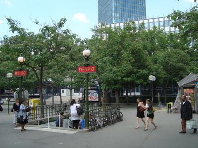 Street Level Of Jussieu