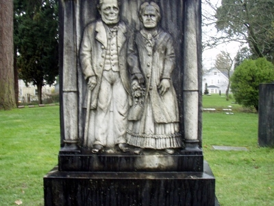 James And  Elizabeth  Stephens Gravestone