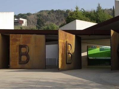 Entrance To Jardi Botanic De Barcelona