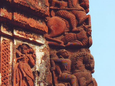 Details Of Terracotta Carving
