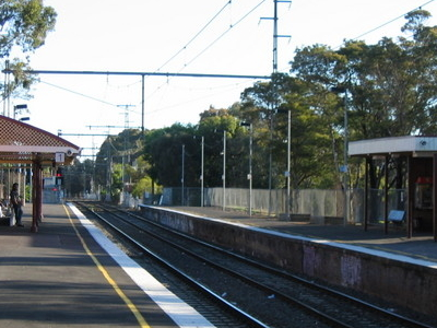 Jewell Railway Station Melbourne