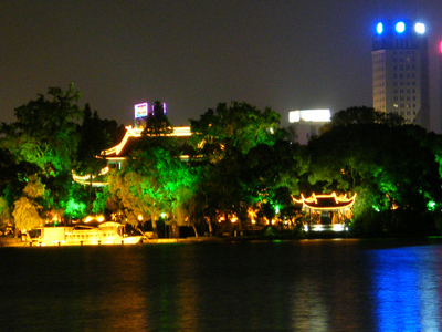 South Lake At Night