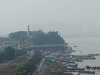 Jin  River Seen From  Zitong  Bridge    South Side     D S C F 8