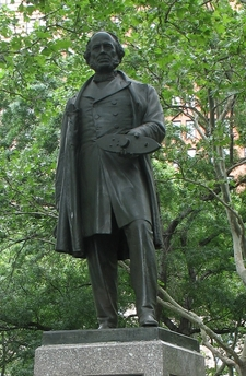 Statue Of John Ericsson In Battery Park