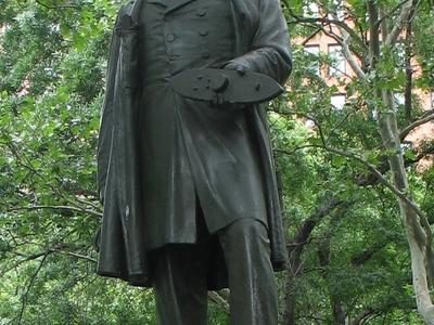 Statue Of John Ericsson In Battery Park