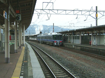 Tsuruga Station Tracks