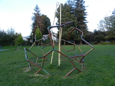 Jungle Gym Sculpture From The People's Park