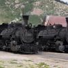 K-36 Steam Locomotives #482 & #480 In Silverton