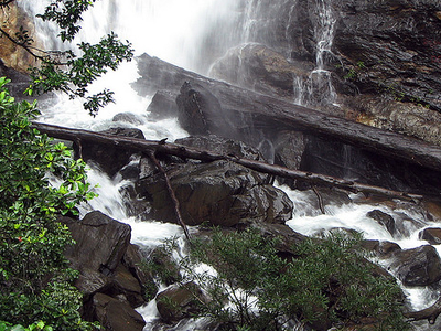 Kadambi Waterfalls At Kudremukh