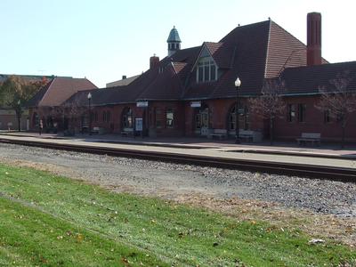Kalamazoo Transportation Center Train Station