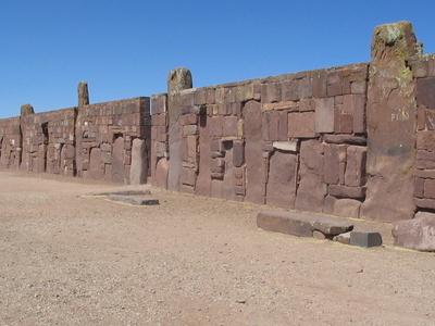 Walls Around The Temple Kalasasaya