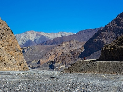 Kali Gandaki Gorge After Jomsom - Nepal Himalaya