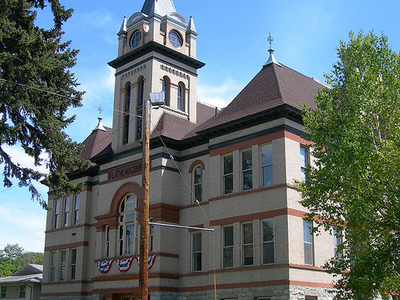 Kalispell Courthouse - Montana - USA