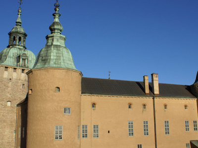 Kalmar Castle Viewed From The South