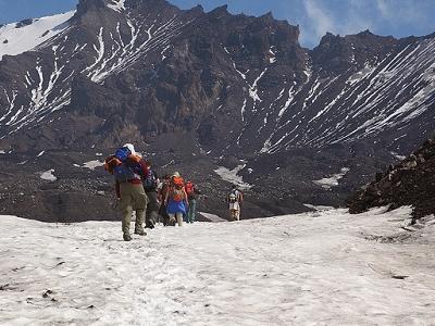 Kamchatka Volcano Tolbachik