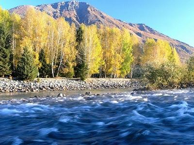 Kanas Lake In Fall - Xinjiang